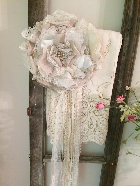 Marfil Con Cuentas De Perla encaje Plain recorte Cinta Bridal Vintage Shabby Chic Boda