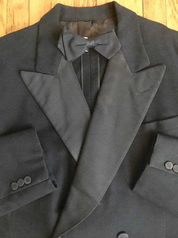1930's Mens Formal Double Breasted Tuxedo Suit/Jac