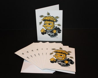 Cards - WuShock - Pack of 8 with Envelopes, Story Insert, and Plastic Sleeve