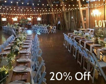 Onesteptimers Party Pack - 20% off of a variety of Popular Fairy Light products.  One 49-ft, two 16.5-ft, ten Wine stopper, ten 3-ft lights.