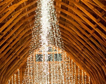 Extra Long Fairy Lights - 100, 200, or 300 ft.  Waterproof lights for Event Venues. Great for Deck Lighting. Plug in only