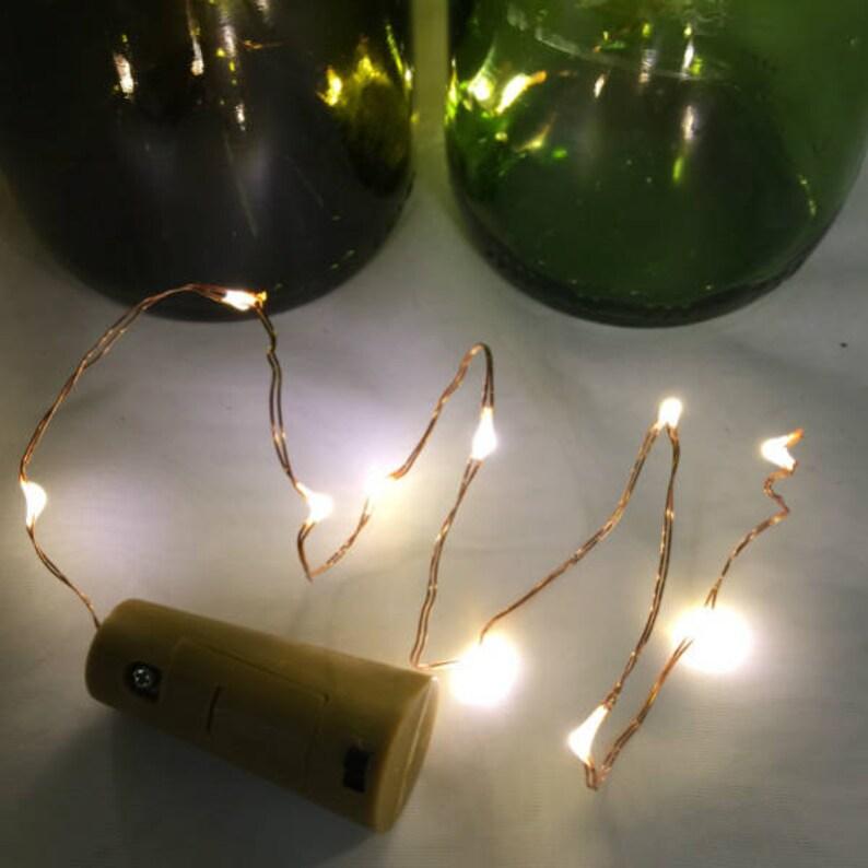 LED Solare Per Giardino All/'aperto FAIRY stringa Indoor bottiglia di vino tappo di sughero Luci Festa Decor