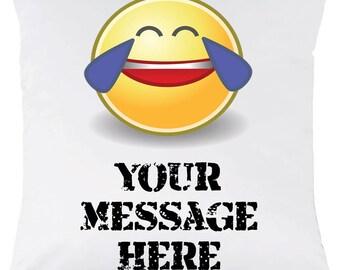 Custom emoji pillow   Etsy