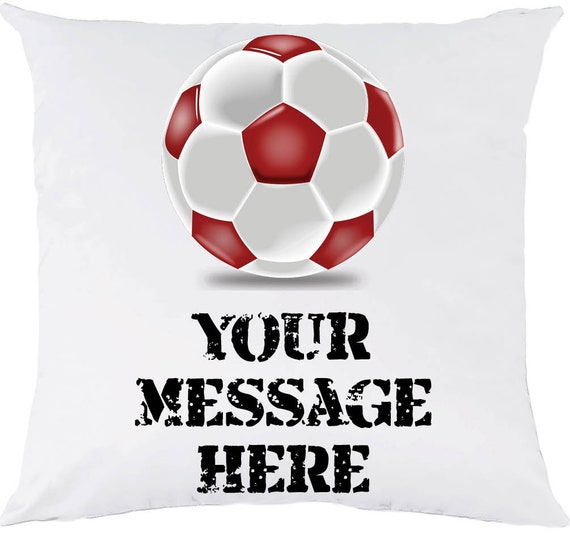 Personalised cushion cover gift with boxing glove design cud17