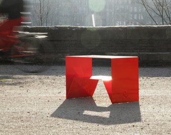 Caustik coffee table, unique handmade by atelieRCitti