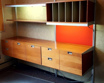 George Nelson CSS wall unit for Herman Miller. *estimated shipping