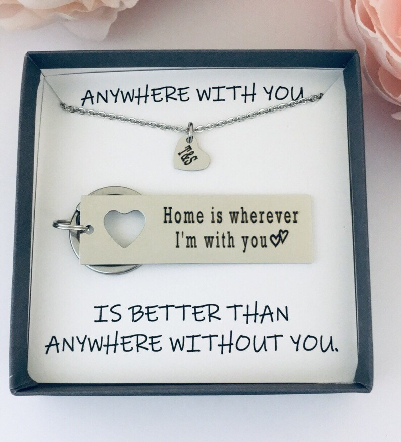 Wherever You Go Come Back To Me Boyfriend Gift Couples Etsy