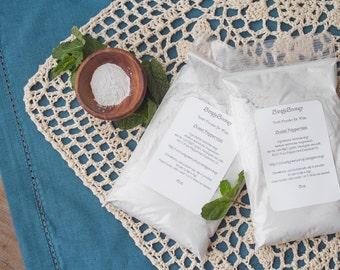 16oz PEPPERMINT Vegan Organic Fluoride Free Remineralizing Tooth Powder