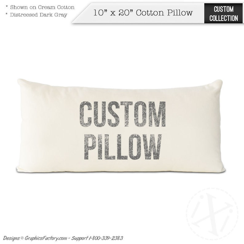 Custom Pillow Custom Quote Print quotes print Personalized image 0