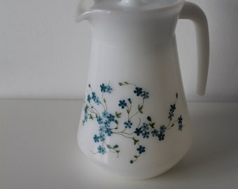 Ditsy Glass Lidded Jug