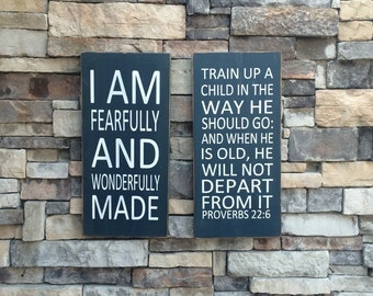 train up a child in a way he should go wood sign proverbs 22:6