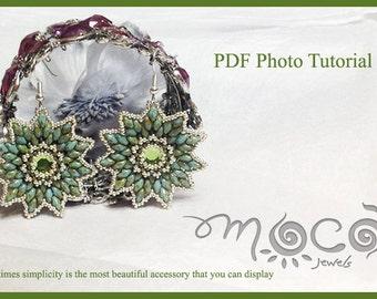 Photo Tutorial ENG-ITA,DIY Earrings,*Hope* earrings PDf Pattern 04