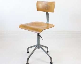 Desk Chairs Vintage Etsy Uk