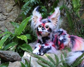 Nip - Cute fantasy poseable art doll Coikat - handmade, OOAK