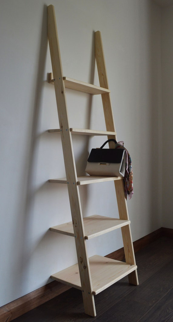 Home Decorative Wooden Ladder, Unit Storage Desplay, Unit Shelf.