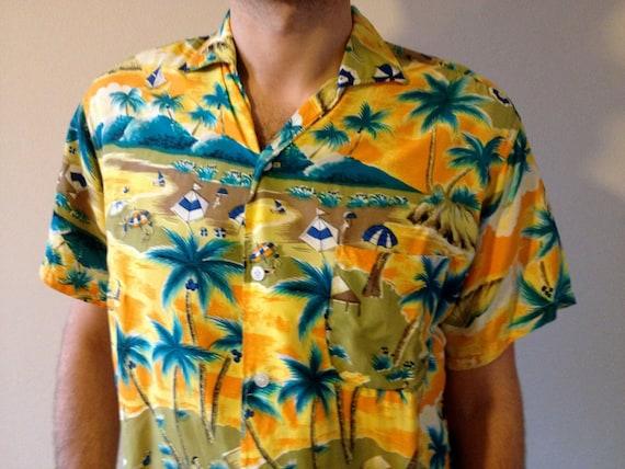 1950s  Hawaiian  Shirt-Jac RARE! Rockabilly, Rock'
