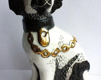 Ceramic Spaniel- Scruffy