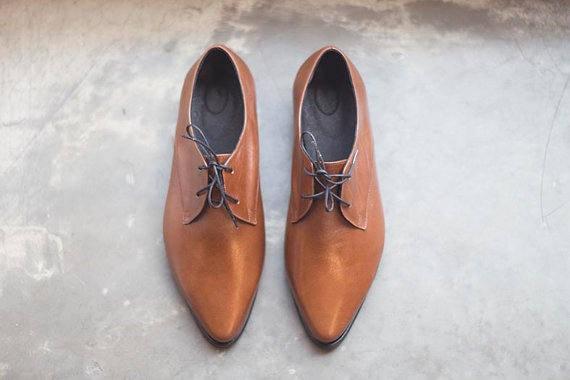 Leather Shoes Dress Black Oxfords Up Comfortable Shoes Flats Shoes Shoes Shoes Black Black Women Women Lace Classic Oxfords Formal 4qq65d