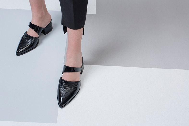 Black Mules, Black Leather Mules, Summer Shoes, Black Mules, Mule sandals, Woman Shoes, Designer Mules, Black Leather Shoes, Heels Sandals, Mules Slides 044ffd