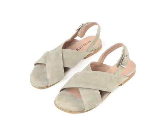 Cross sandales sandales cuir Criss X sandales d en de chaussures P1gP67q