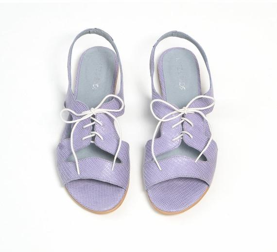 Blue Shoes Sandals Sandals Leather Shoes Summer Handmade Made Custom Sandals Flat 1q1vfnrdx