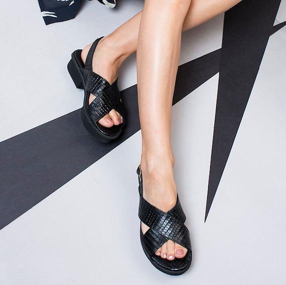 Criss Flat Sandals Sandals Women Leather Strappy Sandals Cross Sandals Sandals Leather Sandals Natural Nude Boho 4pwq4rt
