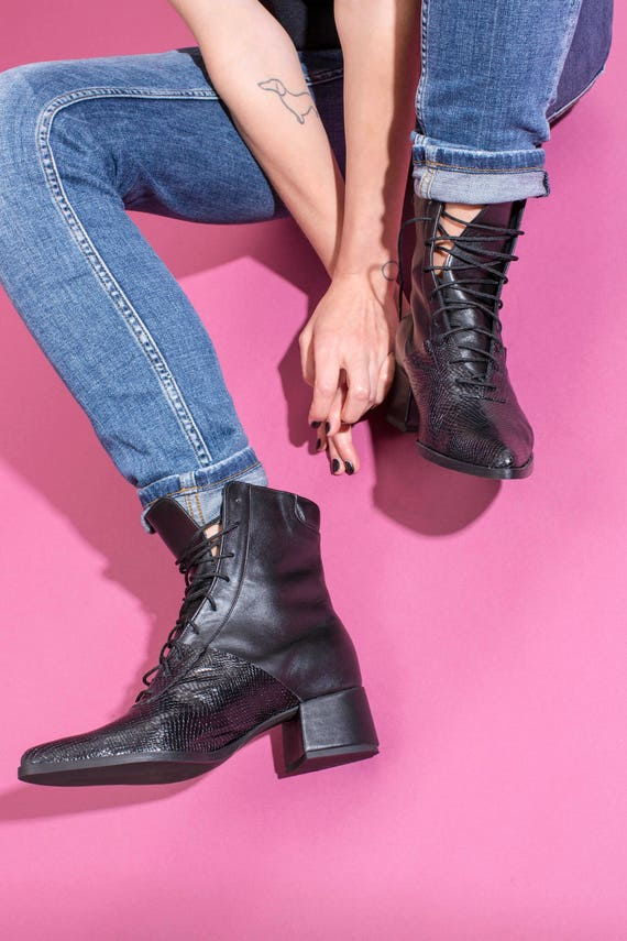 bottes bottes Noir noirs noires bottes bottes bas plates talons noirs bottines en chaussons femmes bottes femmes courtes cuir bottes pour noir rrq8wC
