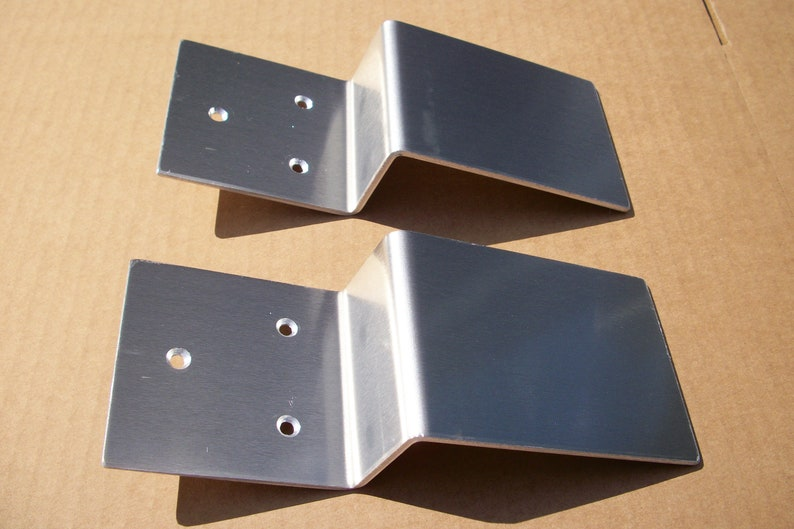 SEE-SEE Security Door Barricade Brackets Fits 2x4 Boards ...