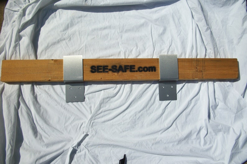 SEE-SEE Security Door Barricade Brackets Fits 2x4 Boards 1 ...