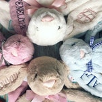 MEDIUM Personalized Jellycat Bunny Rabbit, Easter Bunny, Stuffed Animal, Easter Gift, Personalized Gift, Monogram Bunny, Personalized Bunny