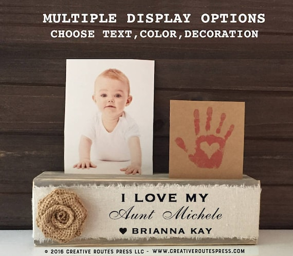 Great Aunt Gift Personalized Frame Niece And Nephew Great Aunt Gift