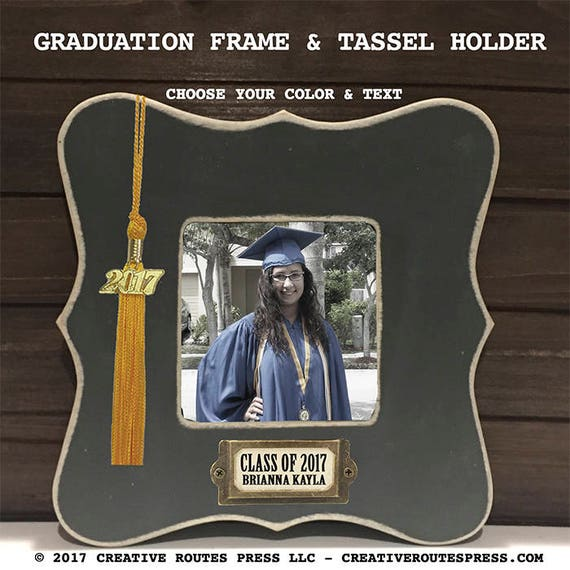 Class Of 2018 Frame With Tassel Holder Graduation Gift Etsy