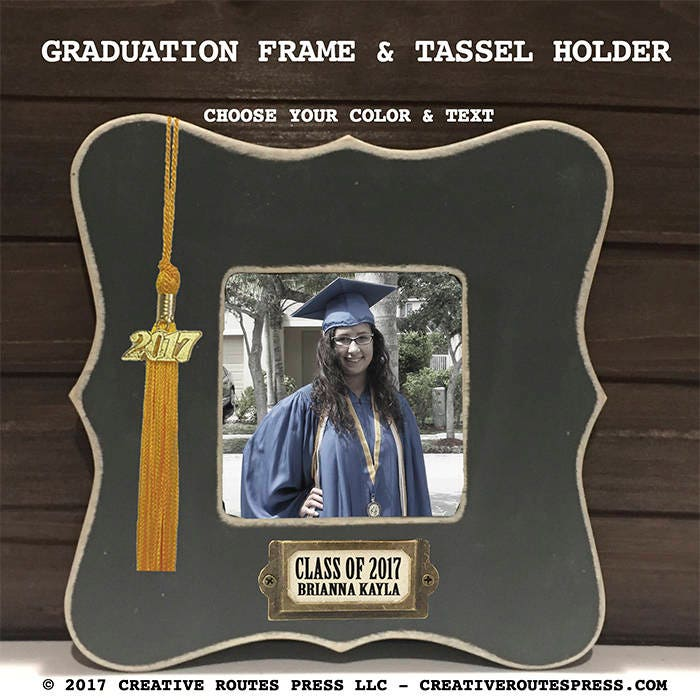 Class of 2018 frame with tassel holder graduation gift