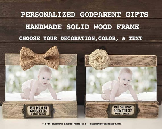 Asking Godparents Personalized Frame Gifts, Will you be my Godmother ...