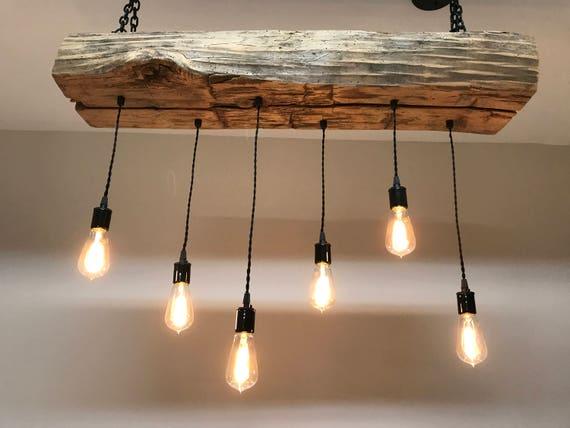 Plafoniere Per Forni Industriali : Rigenerata barn sleeper trave legno plafoniera con etsy