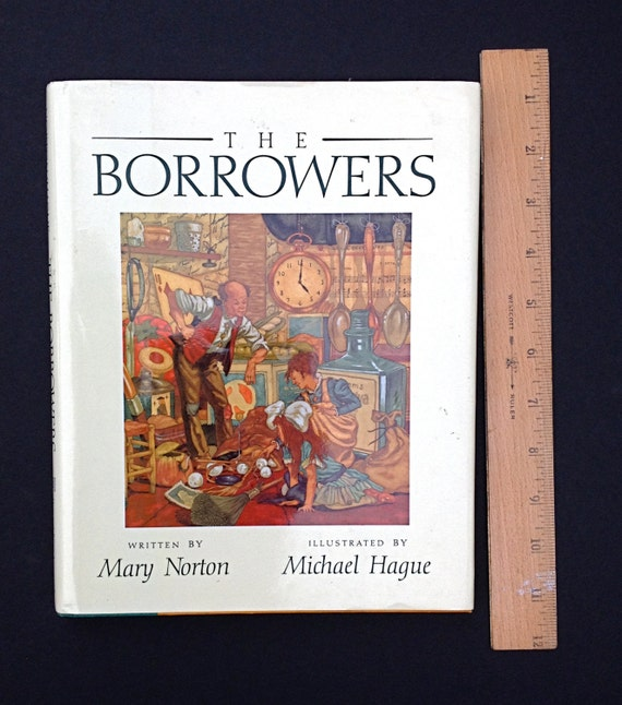 Book The Borrowers By Mary Norton Ill Michael Hague Etsy