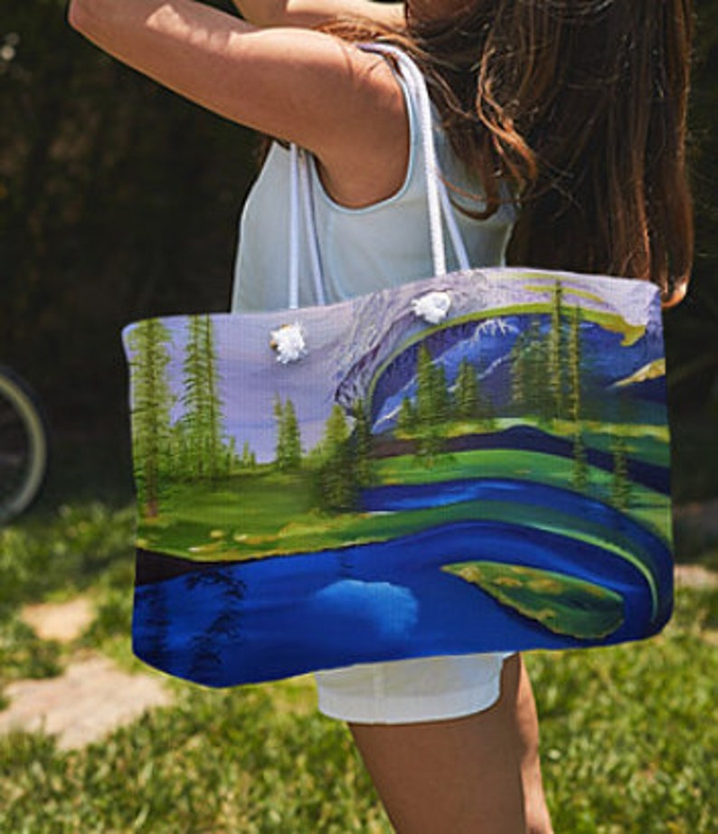 the latest d6d7a 15eff Seattle Seahawks Large Tote Bag, Seahawks Bag, Seattle Tote, Seahawks  Shopping Bag, Mount Rainier Tote, Seattle Seahawks Beach Bag,Northwest