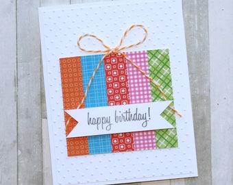 Birthday Gift Greeting Card/Birthday Card/Best Friend/For Him/Birthday Gift/For Her/Handmade/Greeting Cards/Handmade Cards/Gift for Her/Gift