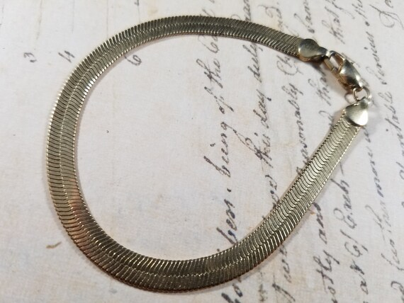 Snake Chain Vintage Bracelets Lot #B84; Costume J… - image 7