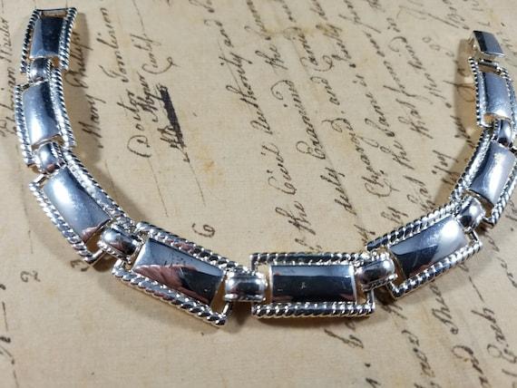 Pink and Silver Vintage Bracelets Lot #B80; Costu… - image 5