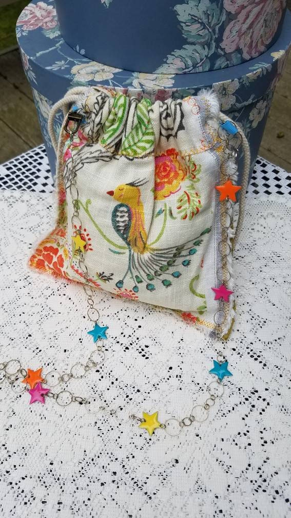 Shabby Chic Cross Body Cell Phone Small Festival Shoulder bag ... 813a549c1aec6