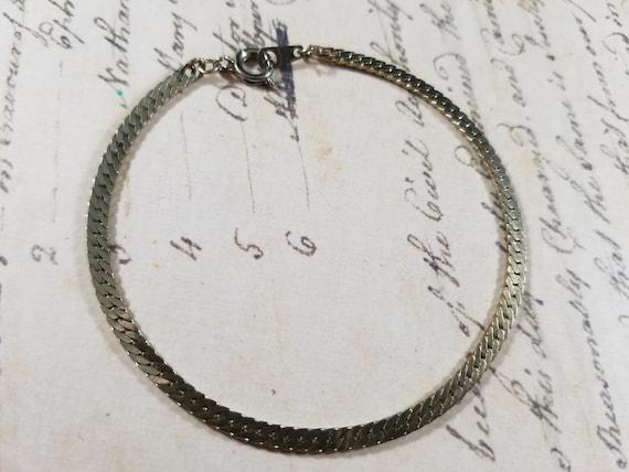 Snake Chain Vintage Bracelets Lot #B84; Costume J… - image 8