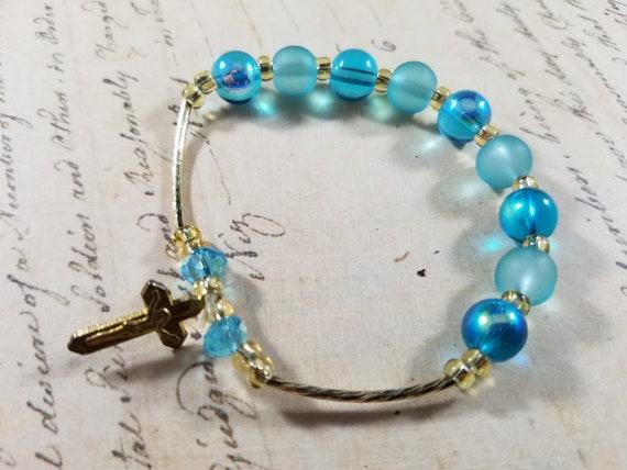 Tiny Wrist Vintage Bracelets Lot #B72; Costume Je… - image 9