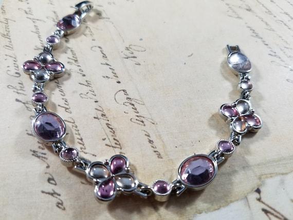 Tiny Wrist Vintage Bracelets Lot #B72; Costume Je… - image 5