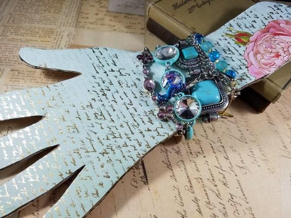 Tiny Wrist Vintage Bracelets Lot #B72; Costume Je… - image 7