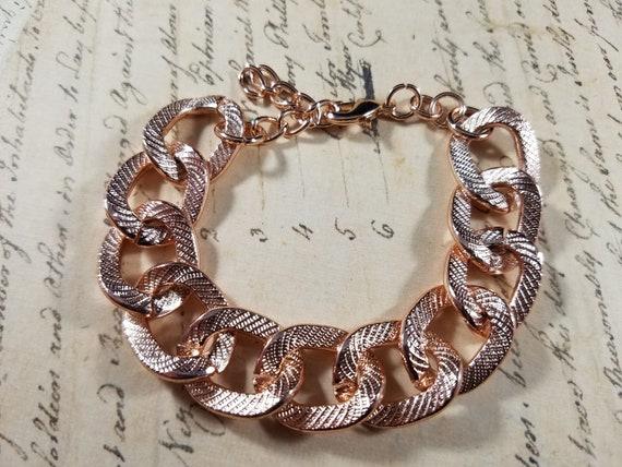 Pink Goldtone Watch Christian Vintage Bracelets L… - image 6