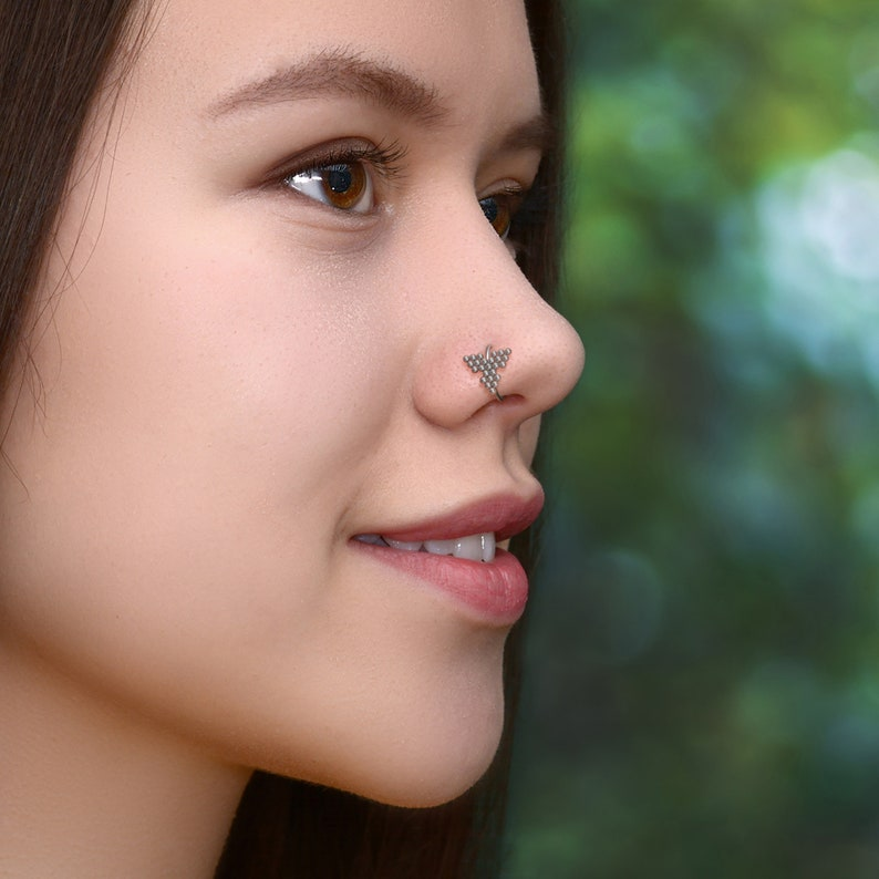 Nose Piercing Surgical Steel Seamless Nose Hoop Nostril Hoop Jewelry Nose Ring Body Piercing Earring