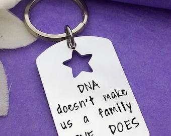 Daddy Gift Dad Keyring Personalised Grandad Keychain