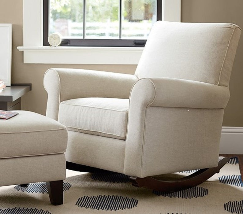 Merveilleux Pottery Barn Charleston Convertible Chair Slipcover Set From Your Own  Fabric!