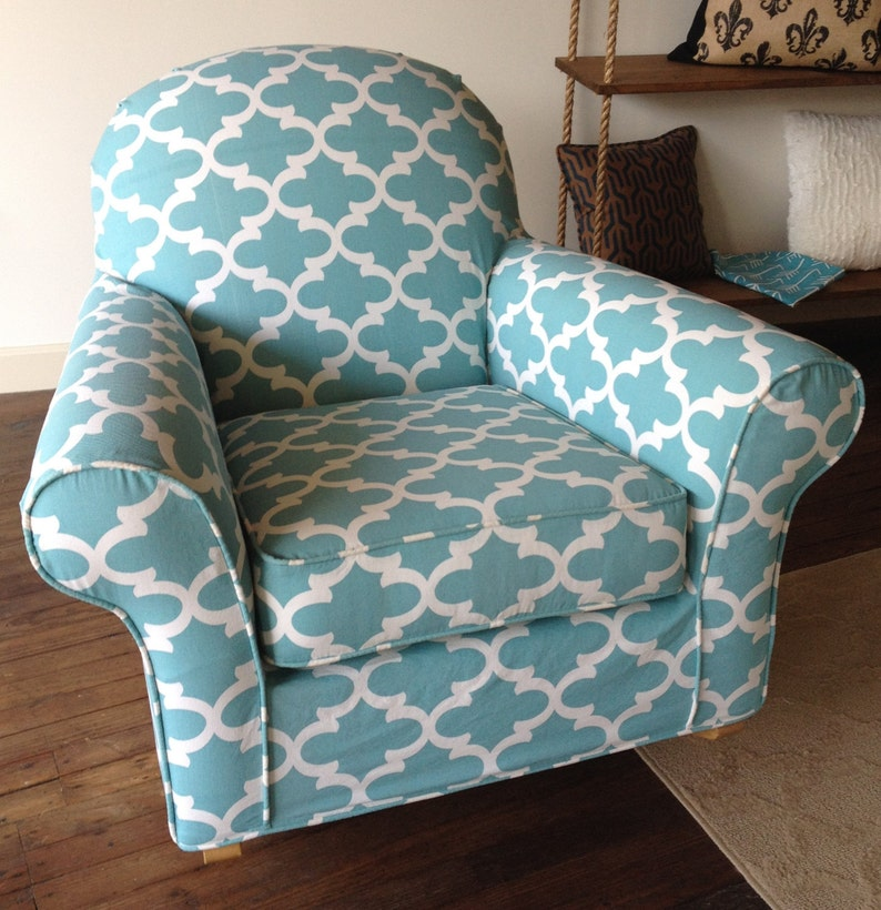 Etonnant Custom Chair Slipcover For Your Discontinued Pottery Barn Dream Rocker From  Your OWN Fabric